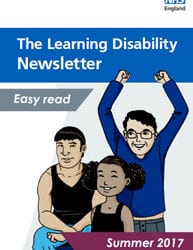 Summer edition of NHS England's easy read learning disability newsletter
