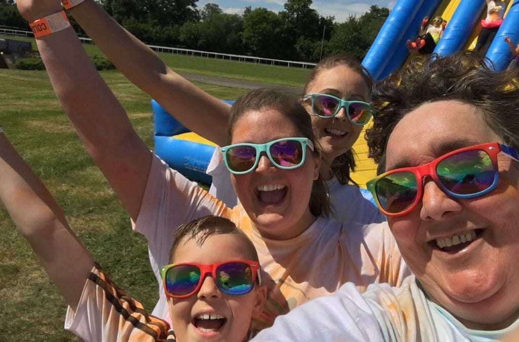 Fundraisers complete Colour Run