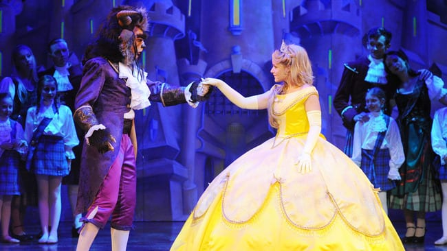 Relaxed Performance of Beauty and Beast