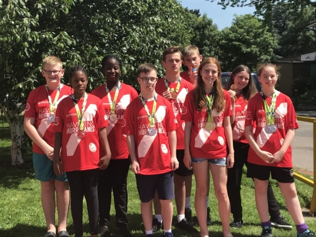 London Youth Games: Havering swimmers make a splash