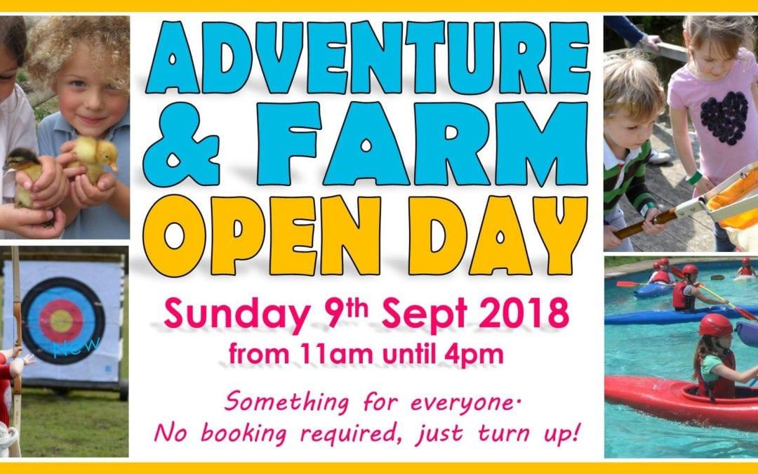 Adventure and Farm Open Day