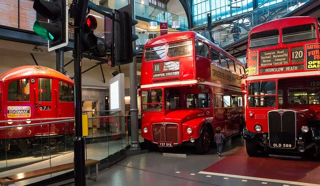 SEND Early Explorer Mornings at the London Transport Museum