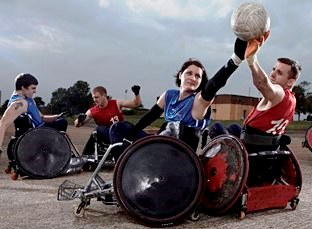 Wheelchair Rugby Taster Sessions
